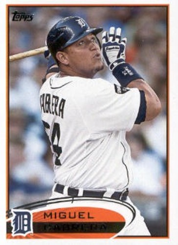 Photo of 2012 Topps #200 Miguel Cabrera