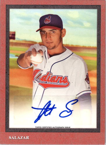 Photo of 2014 Topps Turkey Red Autographs #TRA9 Danny Salazar/182