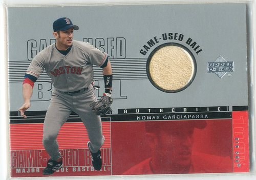 Photo of 2001 Upper Deck Game Ball 2 #BNG Nomar Garciaparra SP