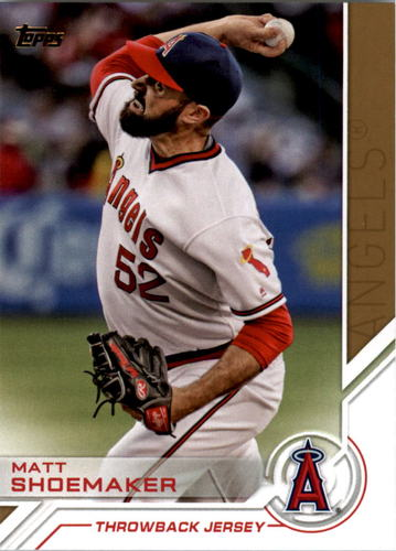 Photo of 2017 Topps Salute #S30 Matt Shoemaker