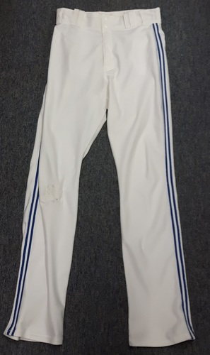 Authenticated Team Issued White Pants - #17 Ryan Goins (2015 Season). Size 34-41 34 OB.