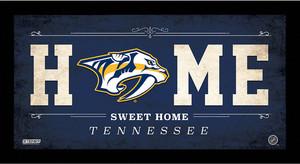 Nashville Predators 10x20 Home Sweet Home Sign