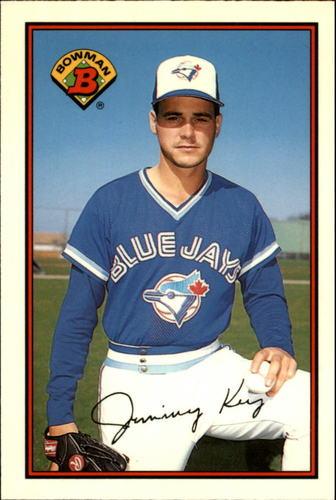 Photo of 1989 Bowman Tiffany #243 Jimmy Key