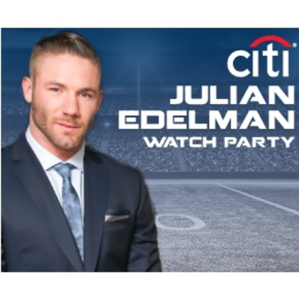 Click to view Viewing Party with New England All-Pro Wide Receiver Julian Edelman.