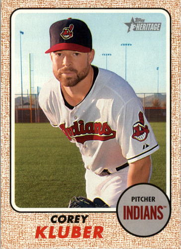 Photo of 2017 Topps Heritage #181 Corey Kluber