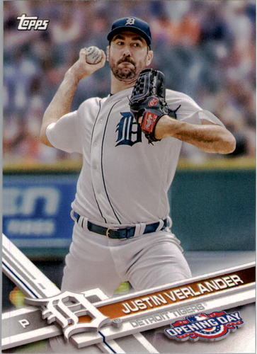 Photo of 2017 Topps Opening Day #151A Justin Verlander