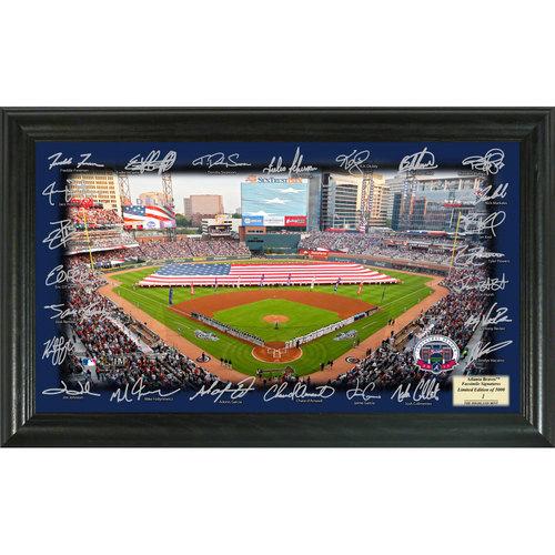Photo of Serial #1! Atlanta Braves 2017 Signature Field