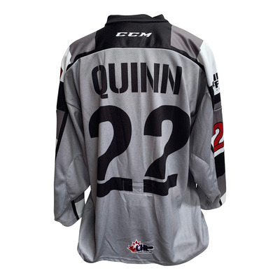 #22 Jack Quinn Game Worn Office Jersey