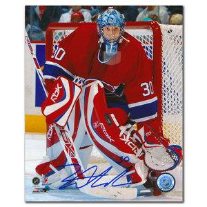 David Aebischer Montreal Canadiens Autographed 8x10
