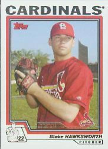 Photo of 2004 Topps #299 Blake Hawksworth FY RC