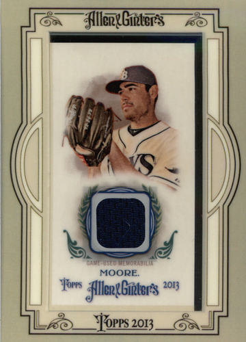 Photo of 2013 Topps Allen and Ginter Framed Mini Relics #MM Matt Moore