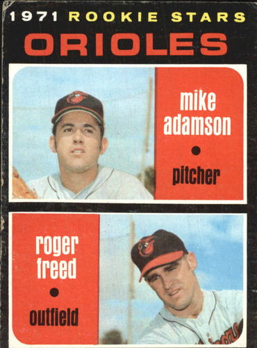 Photo of 1971 Topps #362 Rookie Stars/Mike Adamson/Roger Freed