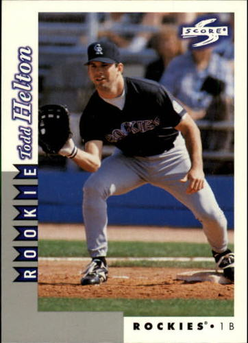 Photo of 1998 Score Rookie Traded #241 Todd Helton