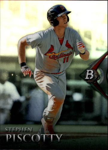 Photo of 2014 Bowman Platinum Chrome Prospects Refractors #BPCP78 Stephen Piscotty