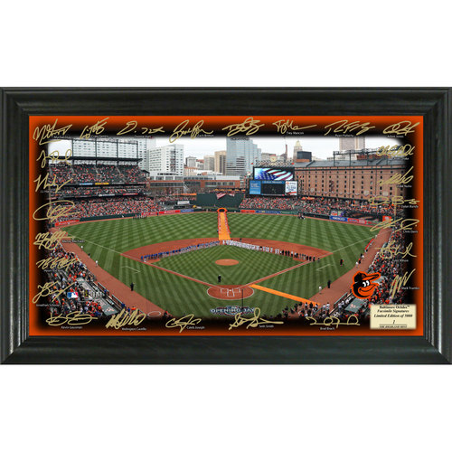 Photo of Serial #1! Baltimore Orioles 2017 Signature Field