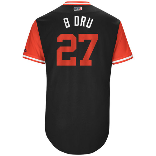 "Photo of Brandon ""B Dru"" Drury Arizona Diamondbacks Game-Used Players Weekend Jersey"