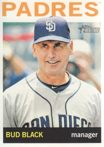 Photo of 2013 Topps Heritage #173 Bud Black