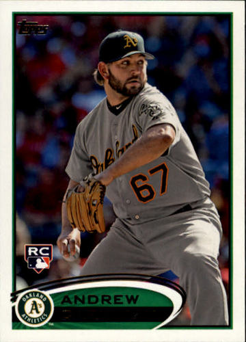 Photo of 2012 Topps #202 Andrew Carignan RC