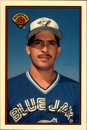 Photo of 1989 Bowman Tiffany #244 Tony Castillo