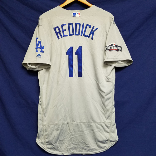 Photo of Josh Reddick 2016 Game-Used Road Playoff Jersey vs Chicago Cubs - NLCS Game 6