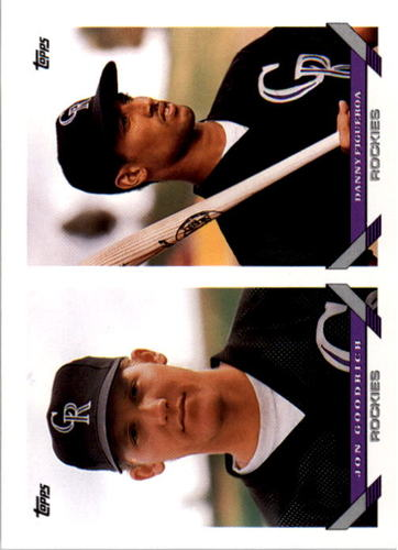 Photo of 1993 Topps #704 Jon Goodrich/Danny Figueroa RC