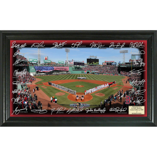 Photo of Serial #1! Boston Red Sox 2017 Signature Field