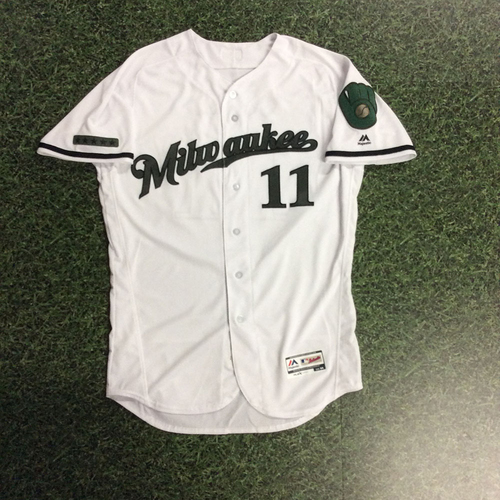 Photo of Darnell Coles 2017 Memorial Day Tribute Game-Used Jersey