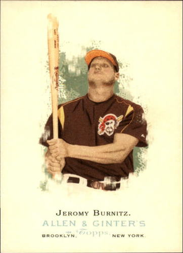 Photo of 2006 Topps Allen and Ginter #47 Jeromy Burnitz