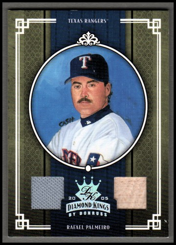 Photo of 2005 Diamond Kings Materials Silver #234 Rafael Palmeiro Rgr Bat-Jsy/100