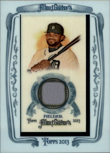 Photo of 2013 Topps Allen and Ginter Framed Mini Relics #PF Prince Fielder