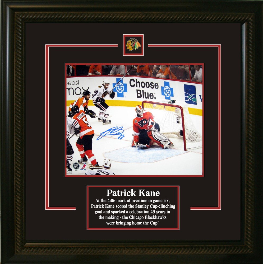 2010 Stanley Cup Patrick Kane Signed 8