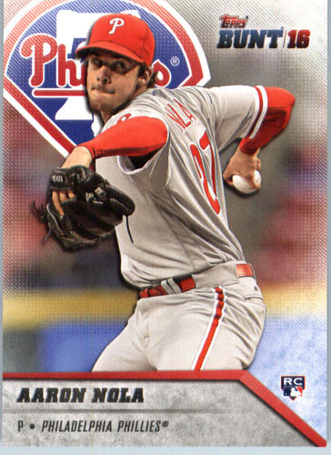 Photo of 2016 Topps Bunt #54 Aaron Nola RC