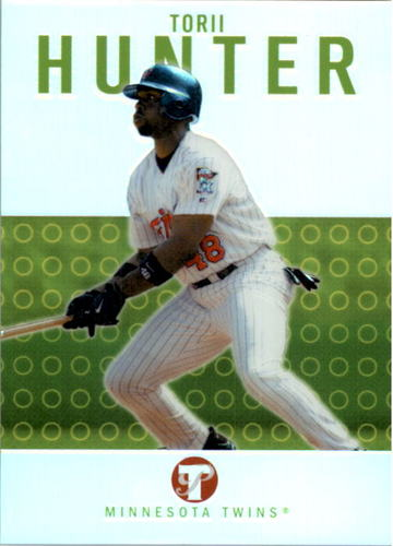 Photo of 2003 Topps Pristine Refractors #43 Torii Hunter