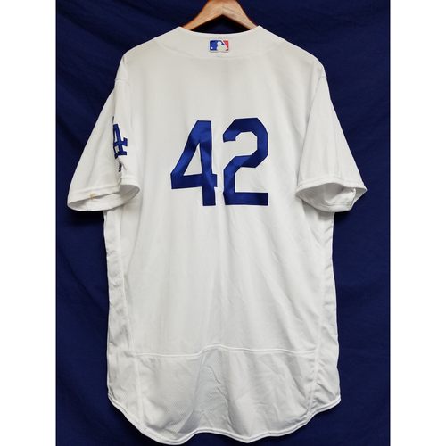 "Photo of Yasmani Grandal Game-Used ""42"" Jersey"