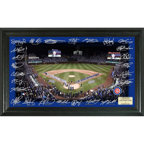 Photo of Serial #1! Chicago Cubs 2017 Signature Field