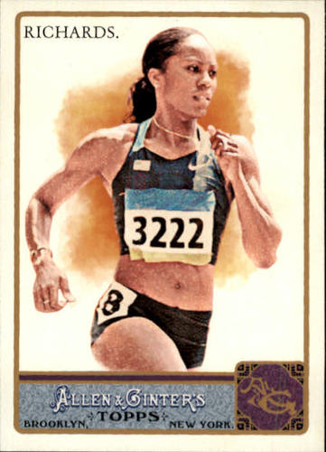 Photo of 2011 Topps Allen and Ginter #148 Sanya Richards
