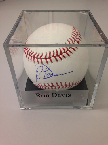 Photo of Baseball Assistance Team: Ron Davis Autographed Baseball