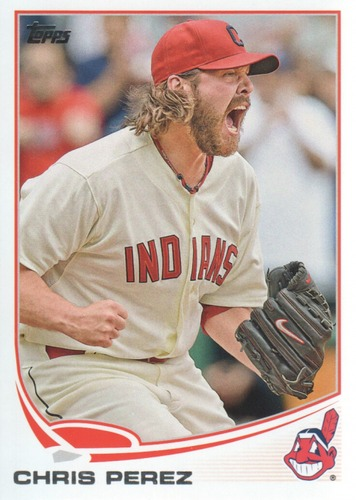 Photo of 2013 Topps #603 Chris Perez