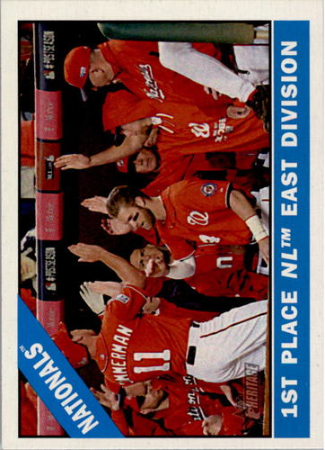 Photo of 2015 Topps Heritage #194 Washington Nationals