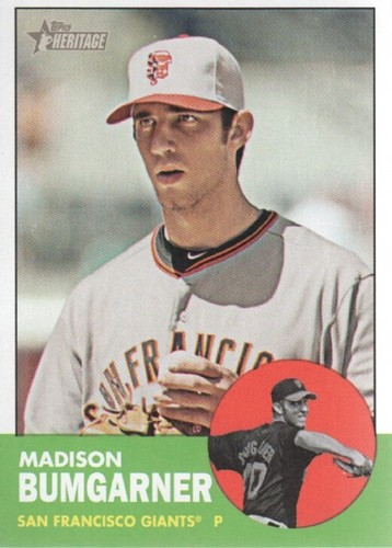 Photo of 2012 Topps Heritage #50 Madison Bumgarner