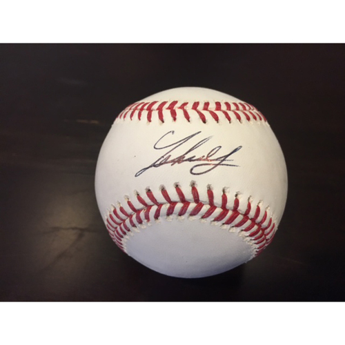 Photo of Giants Community Fund: Johnny Cueto Autographed Baseball