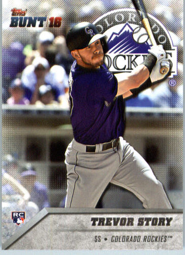 Photo of 2016 Topps Bunt #59 Trevor Story RC