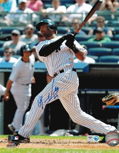 Photo of Eduardo Nunez Autographed 8x10