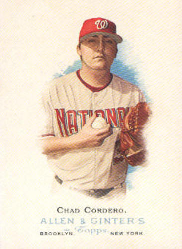 Photo of 2006 Topps Allen and Ginter #220 Chad Cordero