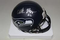 NFL - SEAHAWKS C.J. PROSISE SIGNED SEAHAWKS MINI HELMET