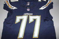 STS - CHARGERS KING DUNLAP GAME WORN CHARGERS JERSEY (DECEMBER 4 2016)