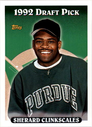 Photo of 1993 Topps #706 Sherard Clinkscales RC