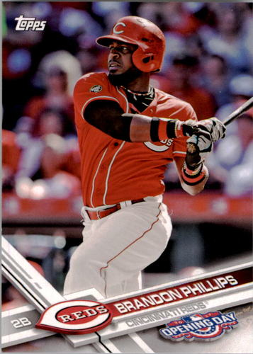 Photo of 2017 Topps Opening Day #155 Brandon Phillips