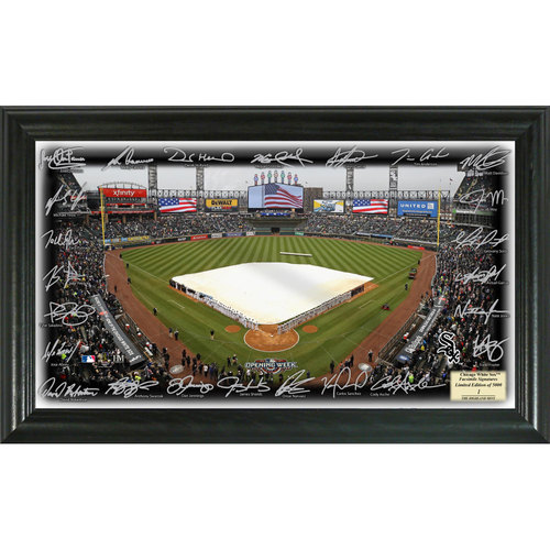 Photo of Serial #1! Chicago White Sox 2017 Signature Field