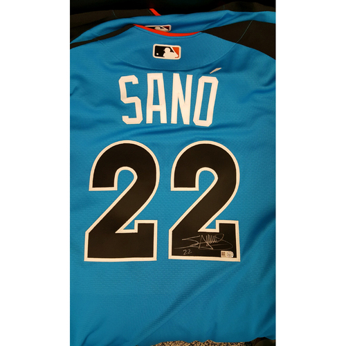 Miguel Sano 2017 Major League Baseball Workout Day/Home Run Derby Autographed Jersey